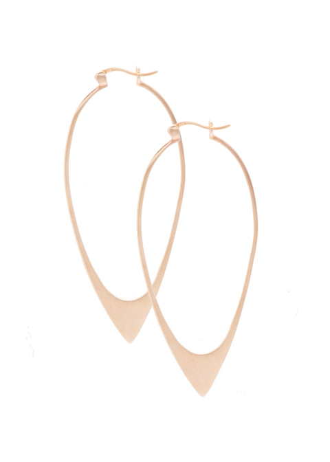 Ariam Earrings Gold Large