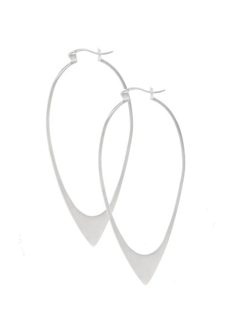 Ariam Earrings Silver Large