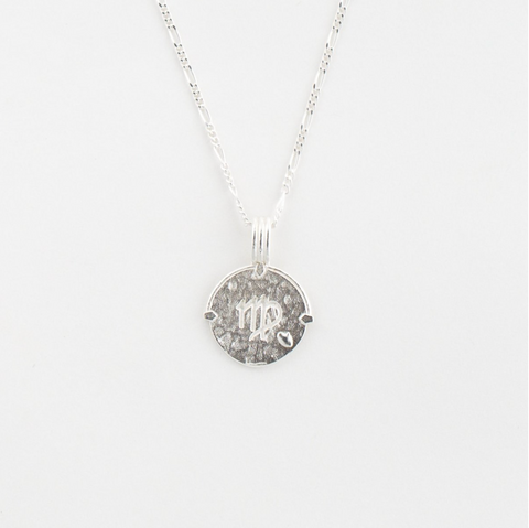 Virgo Necklace Silver