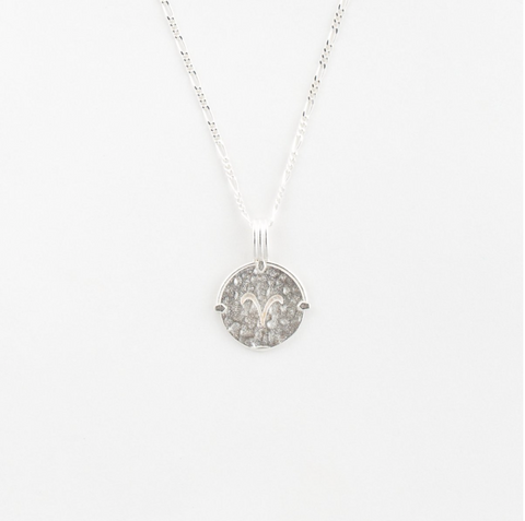Aries Necklace | Silver