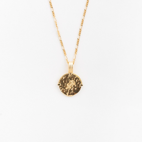Sagittarius Necklace Gold