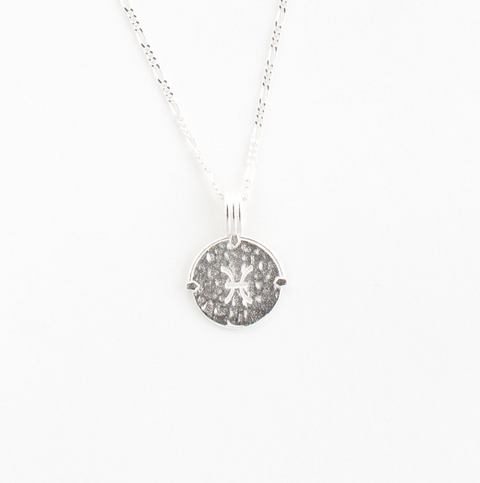 Pisces Necklace Silver