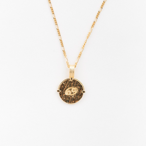 Cancer Necklace Gold