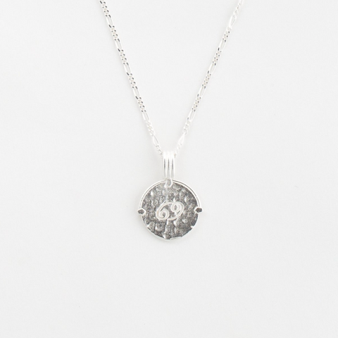 Cancer Necklace | Silver