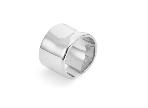 Ora Ring | Rhodium Dipped