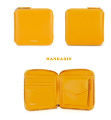 Zipper Wallet Mandarin