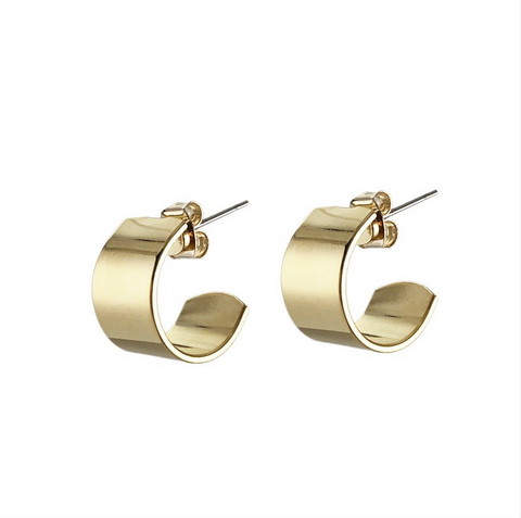 Mini Liberty Hoops Gold