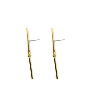 Exeter Earrings Gold