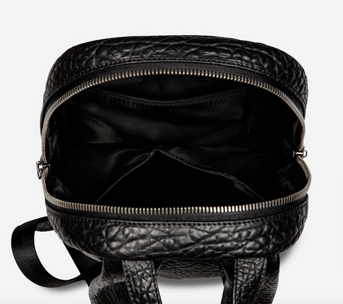 Racketeer Bag | Black Bubble