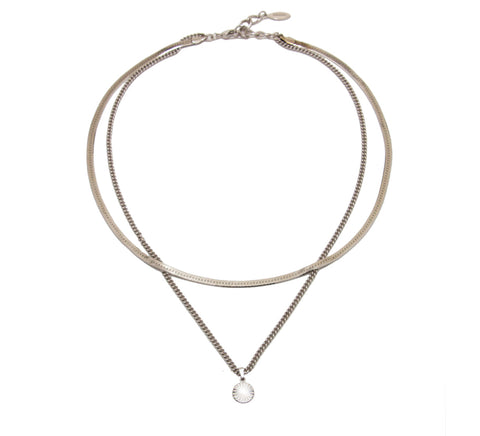 Cuchara-Julia Necklace, Silver-Jewelry--ZANE-Toronto-Canada