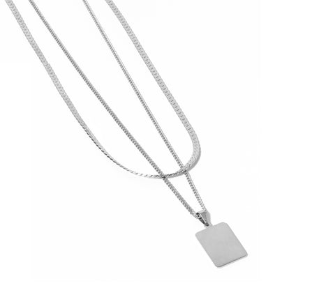 Cuchara-Venice Necklace, Silver-Jewelry--ZANE-Toronto-Canada