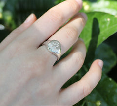 Femme Ring, Silver