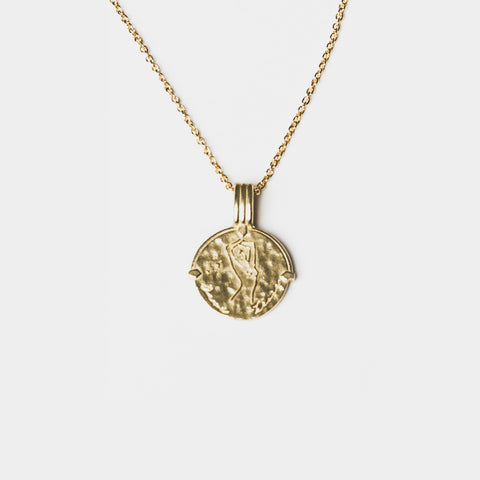 Taurus Necklace Gold