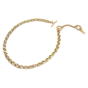 Twin Flame Collar Gold