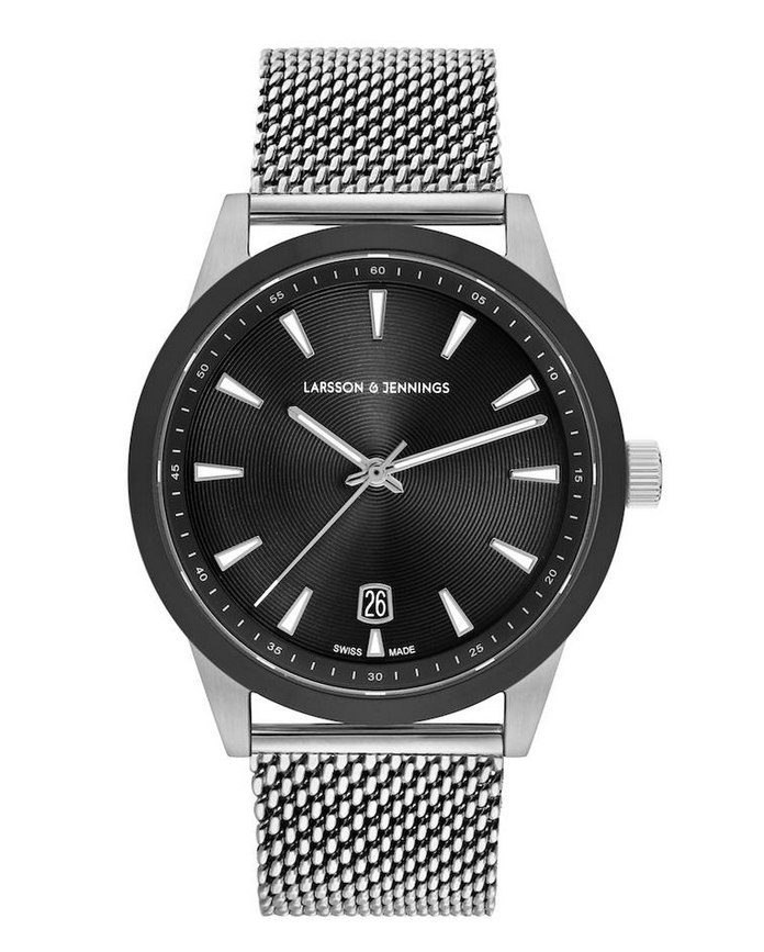 Velo Textured Sunray Milanese 39MM Silver