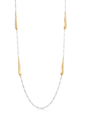Sila Necklace Two-Tone