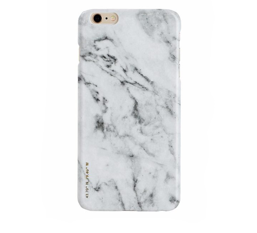 Felony Case-Polished Marble iPhone-Tech-6-White-ZANE-Toronto-Canada