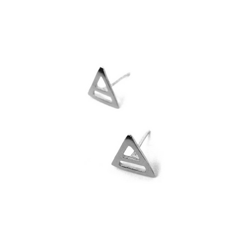 Abyssal Studs, Silver