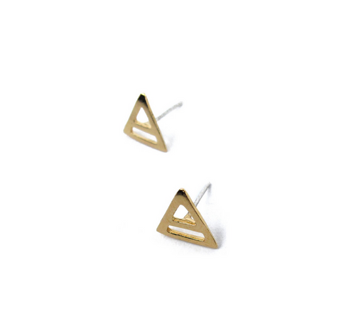 Abyssal Studs | 22K Gold Dipped