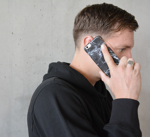 Felony Case-Black Polished Marble-Tech--ZANE-Toronto-Canada