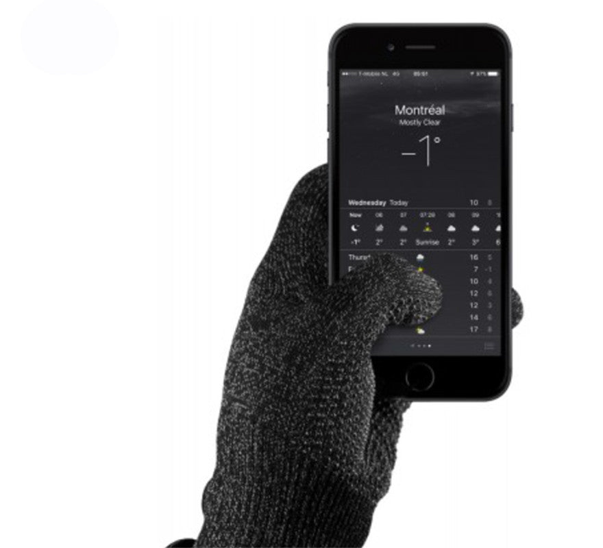 Mujjo-Double Layer Touchscreen Gloves-ZANE-Toronto-Canada