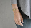 Skinny Stirrup Cuff-Jewelry-Giles and Brother-Brass-ZANE