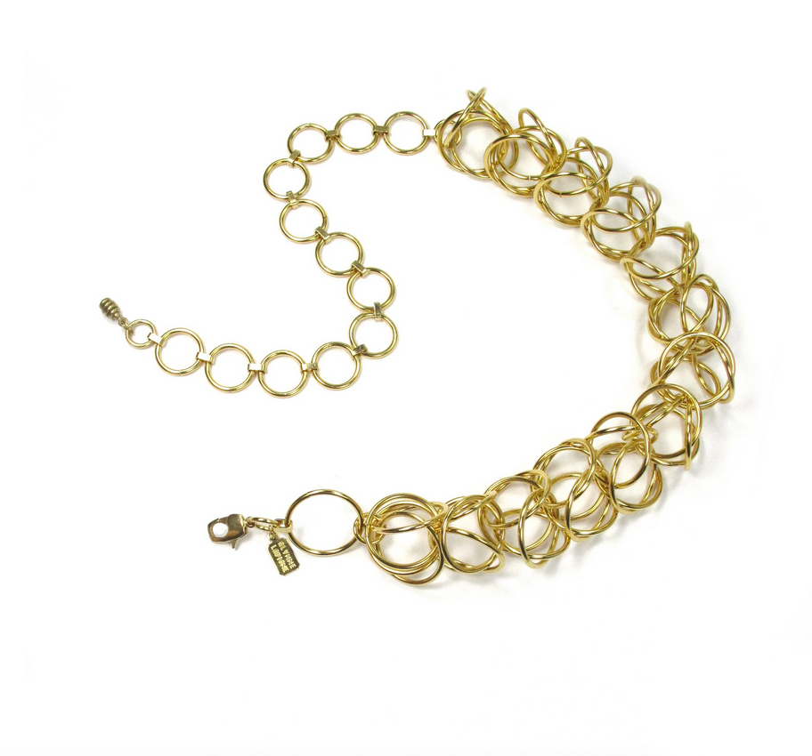 Cage Collar, Gold