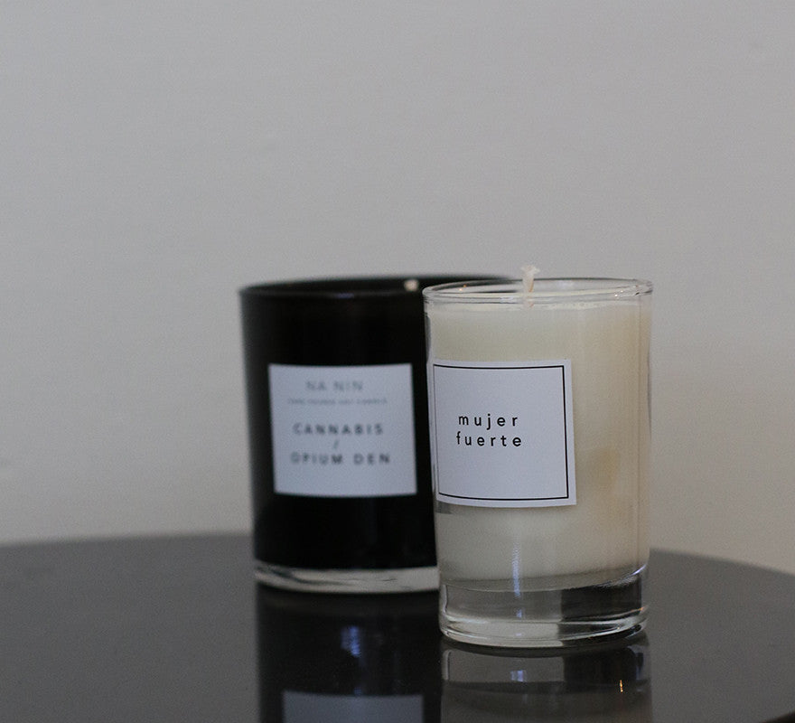 NA NIN-Black Pepper/ Cedarwood Candle 5oz-Lifestyle--ZANE-Toronto-Canada