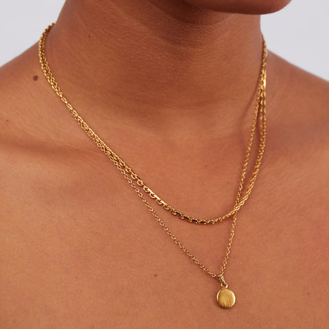 Sandy Necklace | 14K Gold Dipped