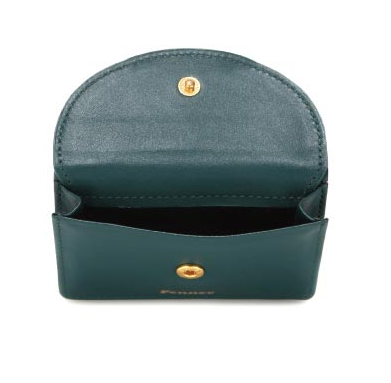 Halfmoon Mini Wallet Moss Green