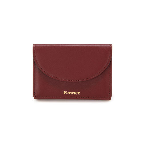 Halfmoon Mini Wallet Smoke Red