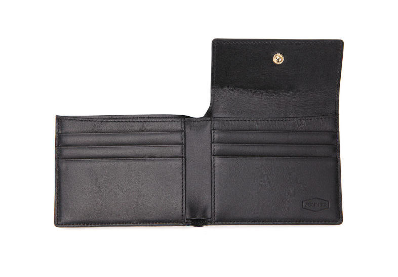 Men's Pocket Wallet in Black