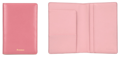 Passport Case Rose Pink