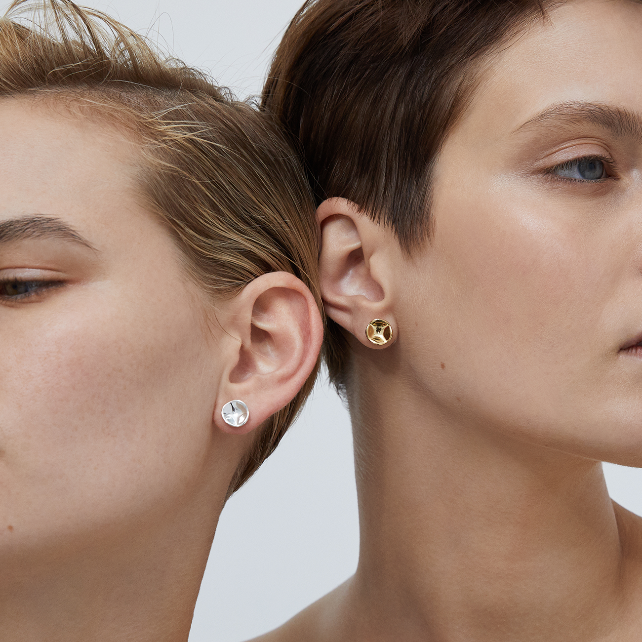 Gaia Earrings Gold