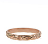 Braided Stacking Ring, Gold
