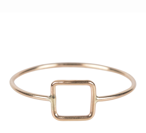 Fresh Tangerine-Quadro Ring, Gold-Jewelry-5-ZANE-Toronto-Canada