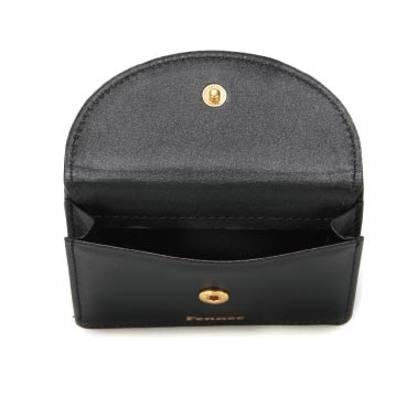 Halfmoon Mini Wallet Black