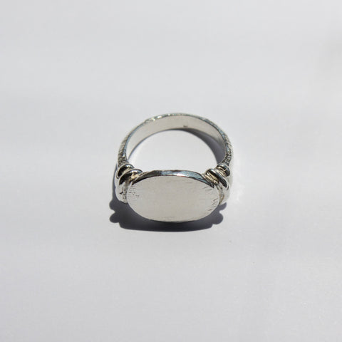Thaleia Signet Sterling Silver