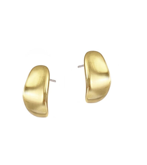 Mirage Studs | Mini | 14K Gold Dipped