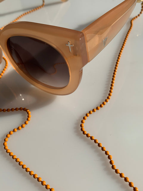 Rio Sunglass Chain Orange
