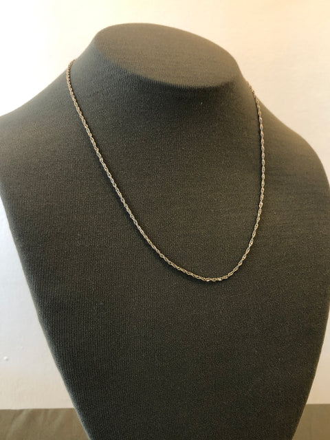 Singapore Chain | Necklace | Sterling Silver