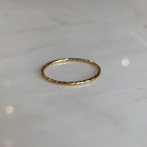 Sparkle Stacker Ring | Gold Filled | 2 + 1