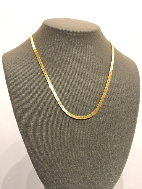 Nat Necklace | 14K Gold Dipped