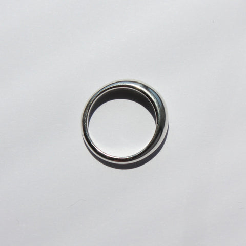 Mini Dome Ring Sterling Silver