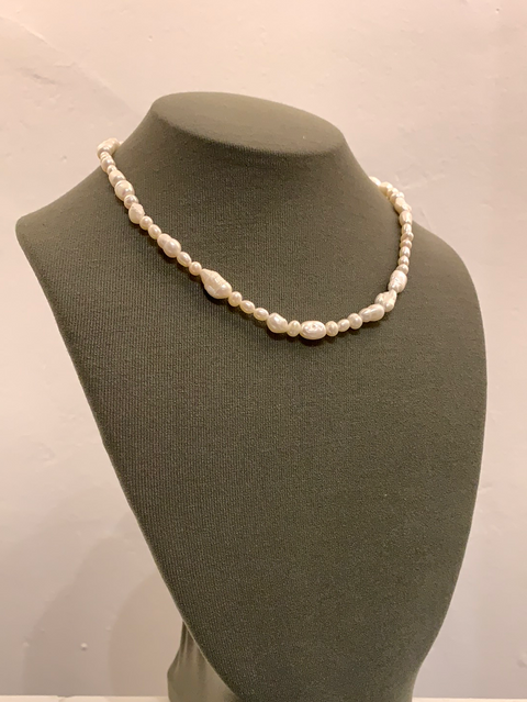 Estelle Necklace | Pearl