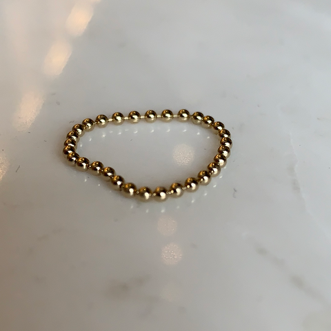 Ball Ring | Gold Filled | 2 + 1