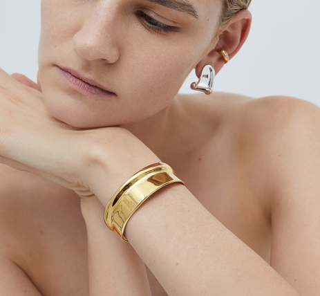 Ora Cuff | 14k Gold Dipped