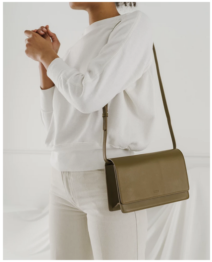 Large Structured Crossbody Kelp