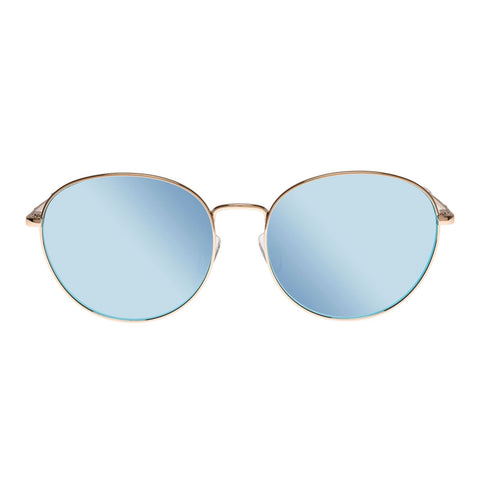 Horus | Alt Fit | Gold | Blue Lens