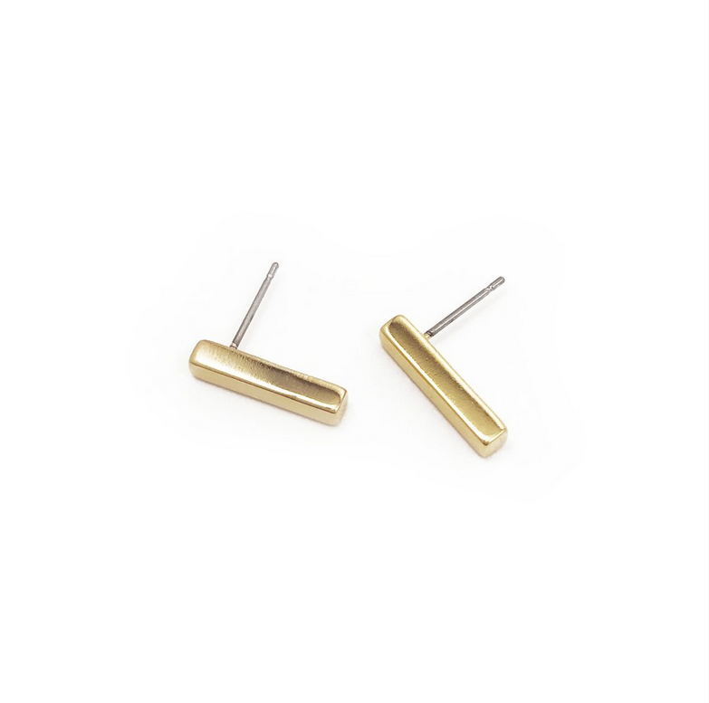 Mini Stick Studs Gold